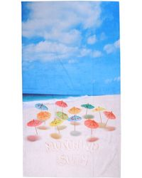 Moschino Blue Beach Towel - Lyst