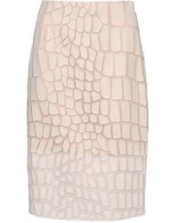 Stella McCartney Beige Simona Skirt - Lyst
