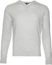 Scp | Cashmere V Neck Sweater | Lyst