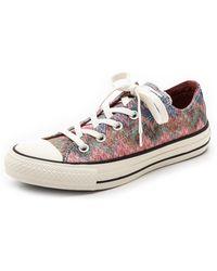 Converse Chuck Taylor All Star Missoni Sneakers - Egretmulti - Lyst