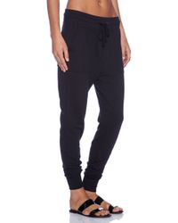 James Perse Slouchy Sweatpant - Lyst