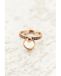 Luv Aj The Ring Of Fire Single Ring - Lyst