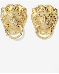 Nasty Gal Lions Share Earrings - Lyst
