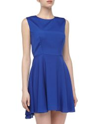 Naven Sleeveless Bias-Cut Dress - Lyst