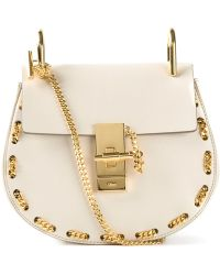 Chloé 'Drew' Chain Detail Shoulder Bag - Lyst