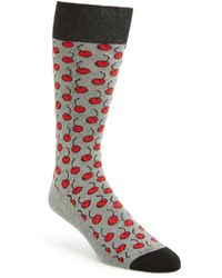 Hook + Albert - 'cherry' Socks - Lyst