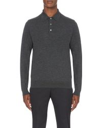 Kilgour - Collared Wool Jumper - Lyst