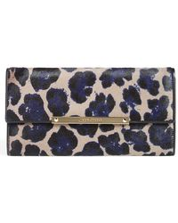Jimmy Choo 'Marilyn' Leopard Print Calf Hair Clutch - Lyst