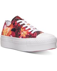 Converse Women'S Chuck Taylor All Star Platform Ox Casual Sneakers From Finish Line - Lyst