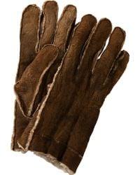 BOSS Orange - Shearling Gloves 'Gordano' - Lyst