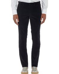 Theory Corduroy Trousers - Lyst