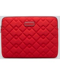 "Marc By Marc Jacobs - Computer Case - Crosby Quilted Neoprene 14"" - Lyst"
