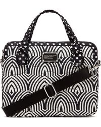 "Marc By Marc Jacobs - 13"" Gamma Ray Print Computer Commuter - Lyst"