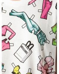 Moschino - Barbie Accessories Print T-Shirt - Lyst