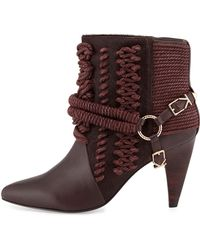 Ivy Kirzhner Chile Rope Harness Ankle Boot - Lyst