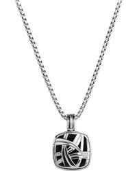 David Yurman Albion Pendant with Hematite - Lyst
