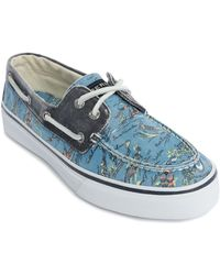 Sperry Top-Sider Bahama Hawaiian Blue Sneakers blue - Lyst