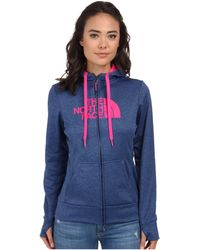 The North Face Fave Half Dome Full-Zip Hoodie - Lyst