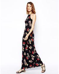Asos Maxi Dress in Cherry Print - Lyst