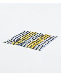 Zara Blue Printed Scarf - Lyst