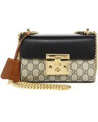 Gucci | Padlock Gg Supreme Small Shoulder Bag | Lyst