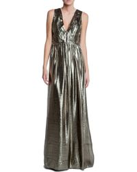 Alice + Olivia Issa Maxi Dress - Lyst