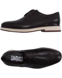 Ferragamo | Lace-up Shoes | Lyst