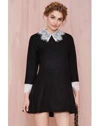 Nasty Gal Unif Doll Lace Dress - Lyst