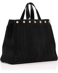 Tamara Mellon Sugar Daddy Suede With Studs Tote - Lyst