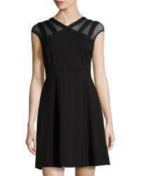 Catherine Catherine Malandrino Santino Peek-a-boo Cocktail Dress - Lyst