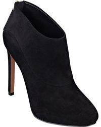 Nine West Navajoe Leather Or Suede Booties - Lyst