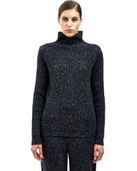 Damir Doma Womens Kariboa High Neck Knit Sweater - Lyst