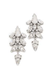 Jenny Packham - Tesoro Earrings Iv - Lyst