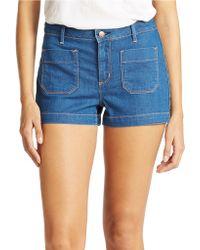 Jessica Simpson Bardot Shorts - Lyst