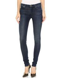 J Brand Mid Rise Super Skinny Jeans  - Lyst