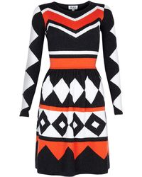 Alice By Temperley Adrienne Printed Skater Dress - Lyst