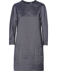 Jason Wu Silk Chambray Mini Dress - Lyst