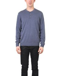 Vince Long Sleeve Henley - Lyst