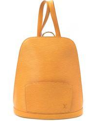 Louis Vuitton Tan Epi Gobelins Backpack - Lyst