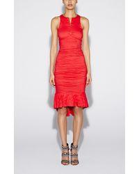 Nicole Miller Runway Zip Dress - Lyst