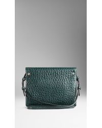 Burberry Small Signature Grain Leather Crossbody Bag - Lyst