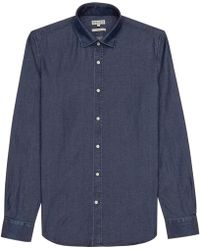 Reiss Rhodes Slimfit Chambray Shirt - Lyst