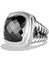 David Yurman Albion Ring with Hematite - Lyst