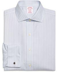 Brooks Brothers Non-Iron Madison Fit Triple Stripe French Cuff Dress Shirt - Lyst