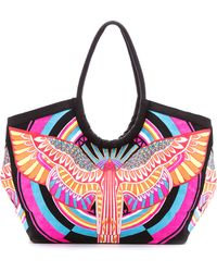 Mara Hoffman Rainbow Bird Bag - Rainbow Bird Lilac - Lyst