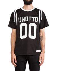 Undefeated 00 Mesh Football Tee - Lyst