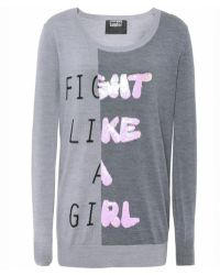 Markus Lupfer Fight Like A Girl Jumper - Lyst