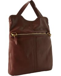 Fossil Brown Erin Tote - Lyst