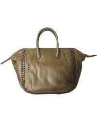 Zagliani Diana-Bag green - Lyst