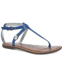 Sam Edelman Flat Thong Sandals - Galia - Lyst